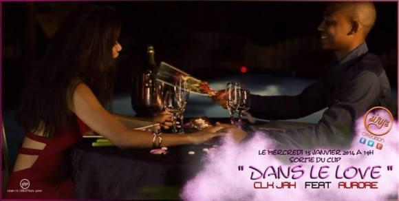 """Affiche du clip """"Dans le love"""" de Marcus"""