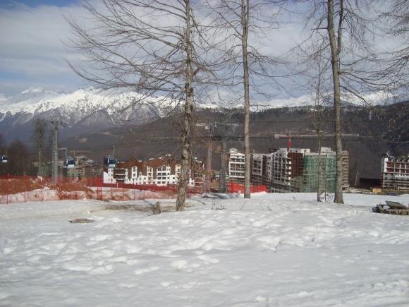 Rosa Khutor, la station de ski où auront lieu les épreuves de ski et snowboard pendant les Jeux de Sotchi