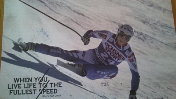Johan est spécialiste des épreuves de vitesse
