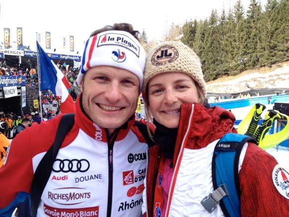 Julien Lizeroux et sa soeur Marion
