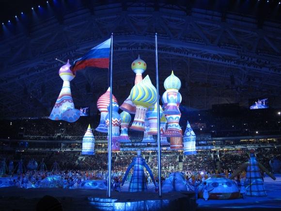 Spectacle de la cérémonie d'ouverture