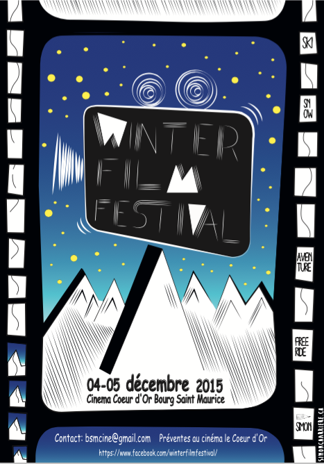 """"""" Une trentaine de film et plus de 7 heures d'images sur deux jours"""", Thibaud Duchosal, organisateur du Winter Film Festival"""
